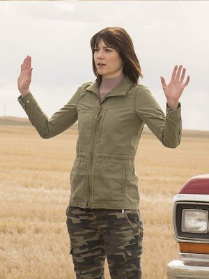 Fargo Mary Elizabeth Winstead cotton jacket