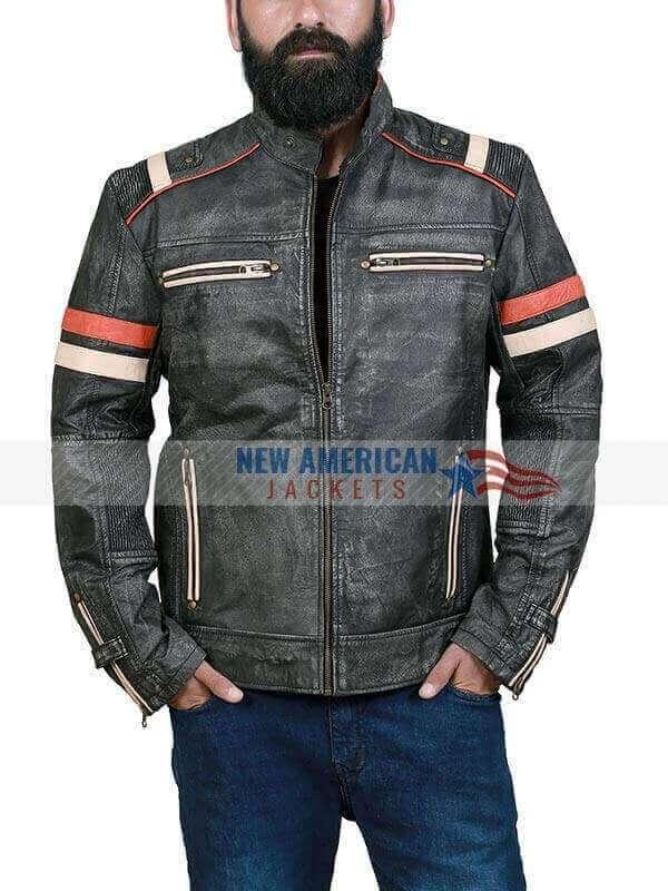 Men's-Bomber-Leather-Jacket