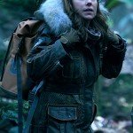 Molly Parker Lost In Space Fur Coat