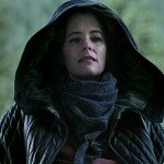 Parker Posey Lost In Space Black Hooded Jacket