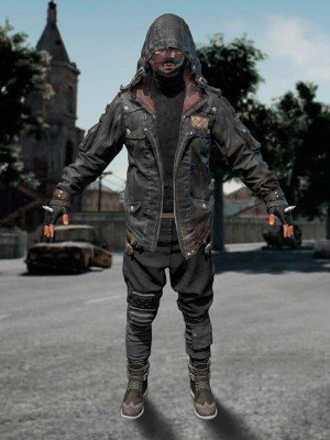 Player Unknown Battlegrounds Hooded Jacket