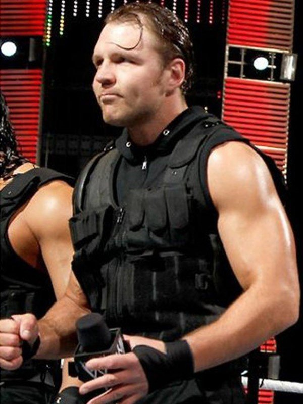 Dean Ambrose Lunatic Fringe Leather Vest