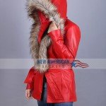 Goldie Hawn Christmas Chronicles Coat