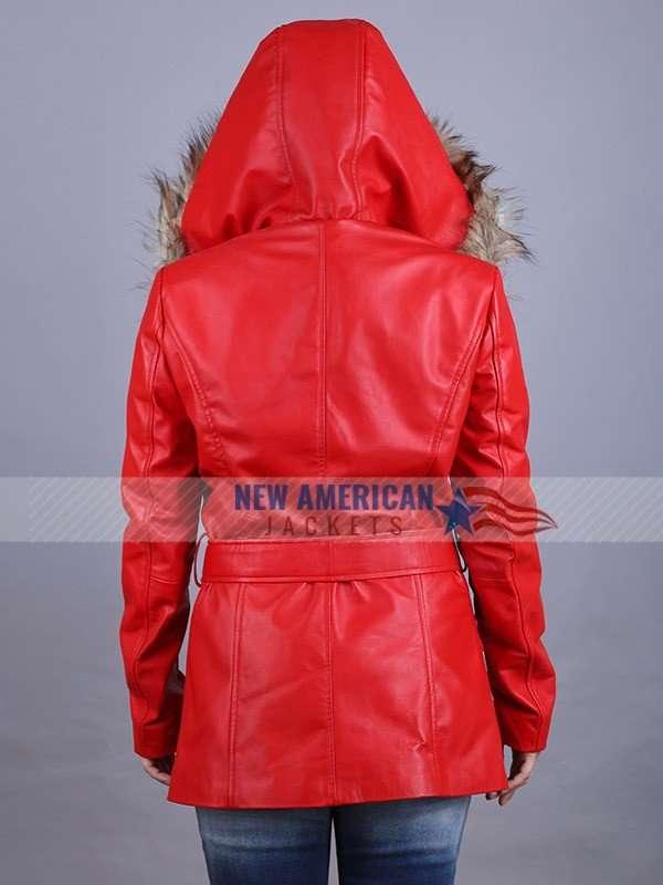 Goldie Hawn Shearling Coat