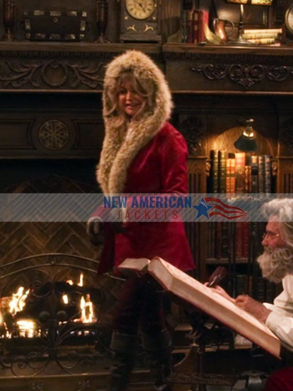 Goldie Hawn The Christmas Chronicles Red Coat