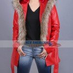 Goldie Hawn The Christmas Chronicles Shearling Coat