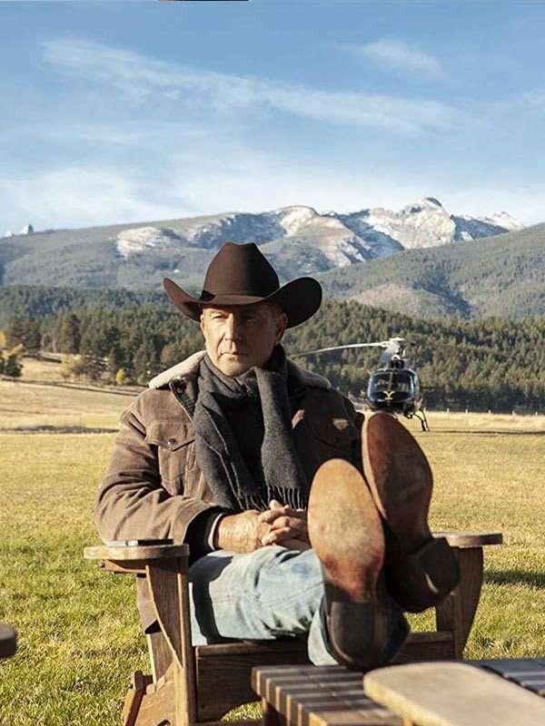 John Dutton Yellowstone Corduroy Jacket