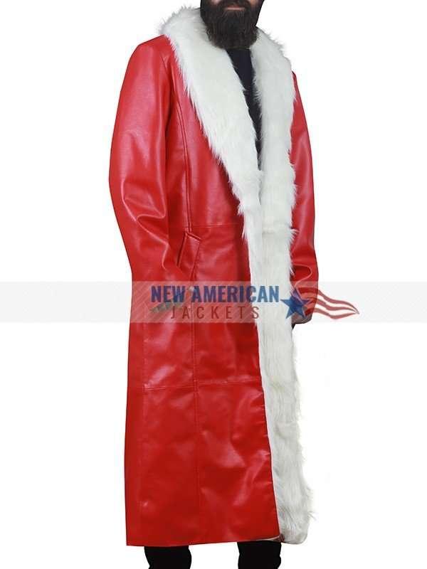 Kurt Russell Red Santa Coat