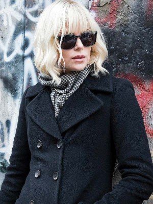 Atomic Blonde Lorraine Broughton Long Coat
