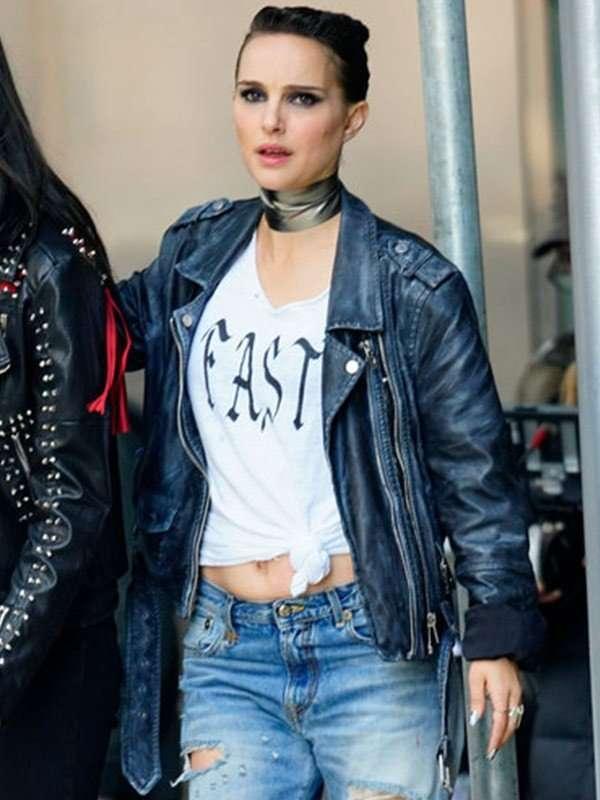 Natalie Portman Vox Lux Black Jacket