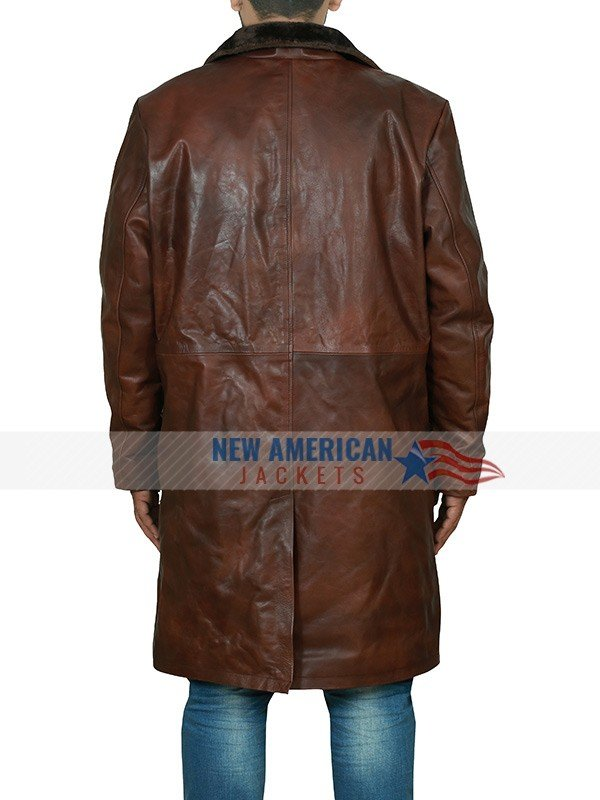 Ron Stallworth BlacKkKlansman Brown Coat