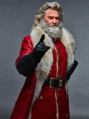 Santa Claus The Christmas Chronicles Shearling Fur Coat