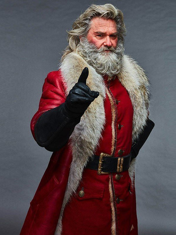 Santa Claus Leather Coat