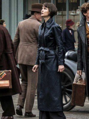 Fantastic Beasts The Crimes of Grindelwald Tina Goldstein Trench Coat