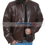 Tom Hardy Brown Leather Jacket