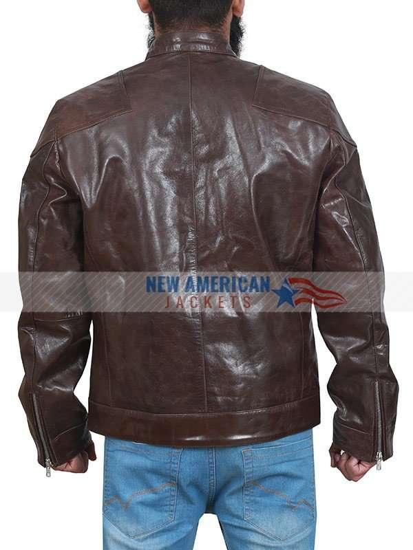 Tom Hardy Venom Brown Jacket