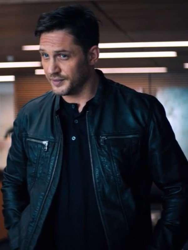 Venom Tom Hardy Black Jacket