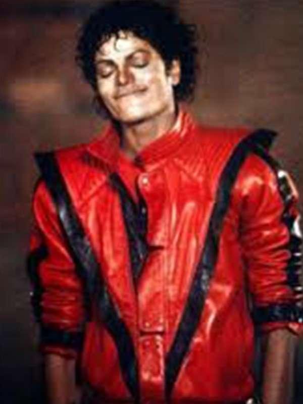 michael jackson red jacket thriller