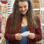 13 Reasons Why Hannah Baker Marron Jacket