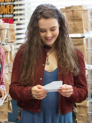 Hannah Baker 13 Reasons Why Maroon Jacket