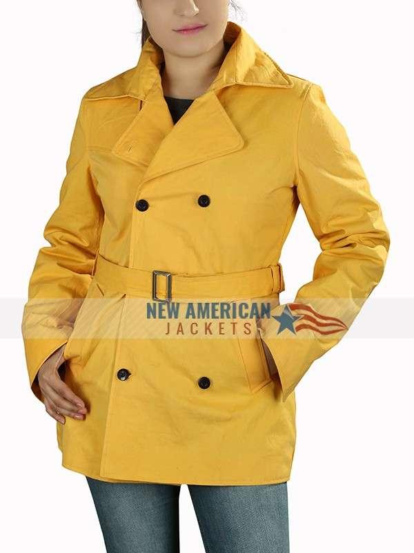 A Simple Favor Anna Kendrick Yellow Coat