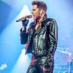 Adam Lambert Queen Concert 2018 Black Studded Jacket