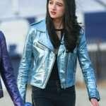 Albertine Vox Lux Leather Jacket