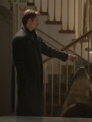 Takeshi Kovacs Altered Carbon Black Wool Coat