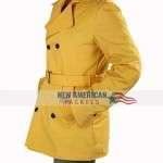 Anna Kendrick A Simple Favor Yellow Coat