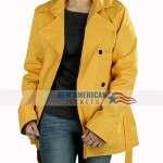 Anna Kendrick Yellow Coat