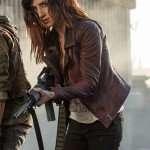 Ash Vs Evil Dead Kelly Maxwell Maroon Jacket