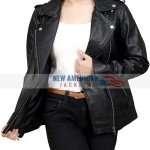 Black Bikers Jacket for Women