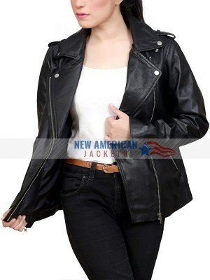 Jessica Jones Leather Biker Jacket