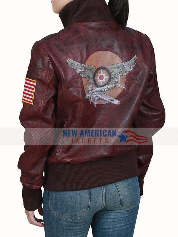 Captain Marvel Brown Jacket