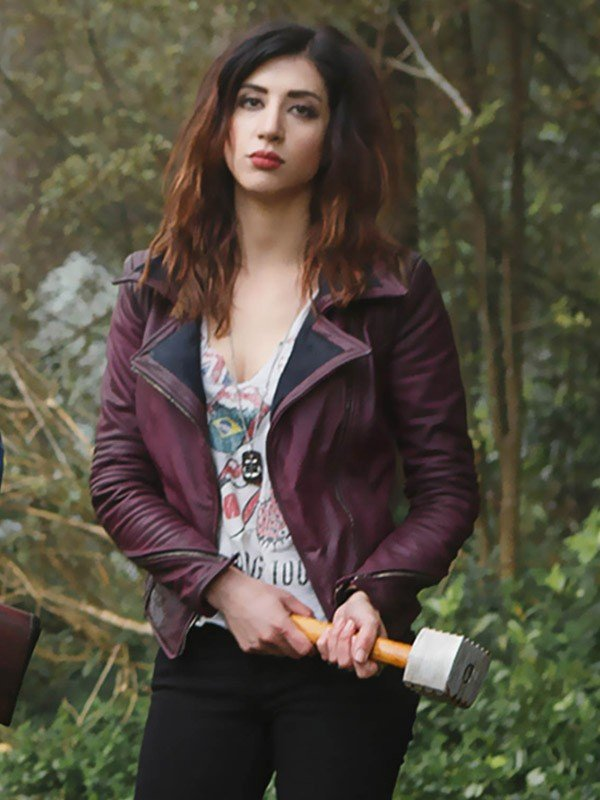 Dana DeLorenzo Ash Vs Evil Dead Bikers Style Jacket