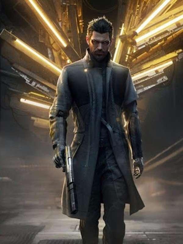 Deus Ex Human Revolution Adam Jensen Long Coat