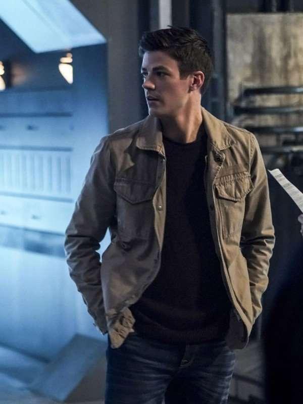Grant Gustin The Flash Season 5 Cotton Jacket