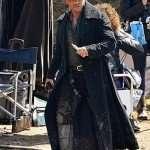 James Keziah Delaney Taboo Black Wool Coat