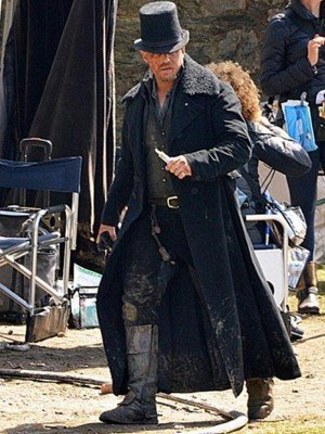 Tom Hardy Taboo Black Trench Coat