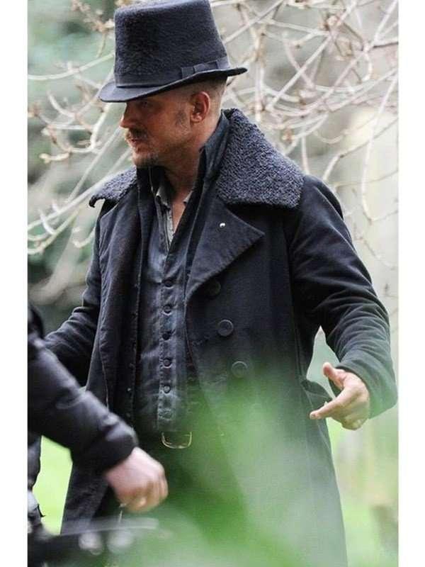 James Keziah Delaney Taboo Tom Hardy Wool Trench Coat