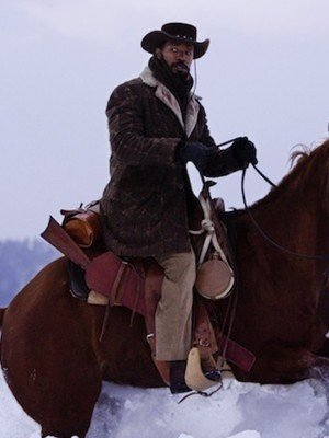 Jamie Foxx Django Unchained Winter Coat