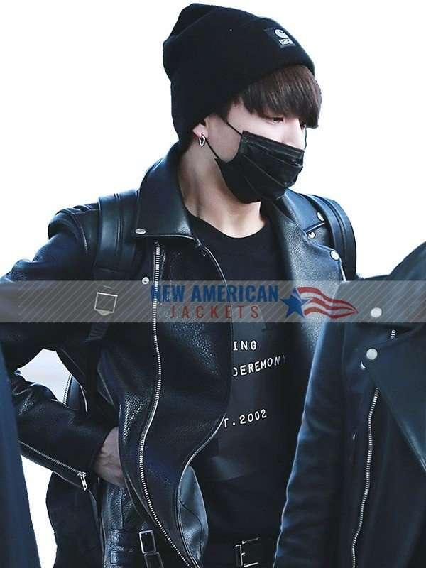 Jungkook Black Jacket