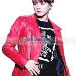 Jungkook Red Jacket