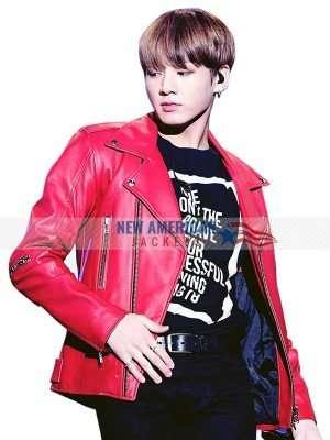 Jungkook Leather Jacket