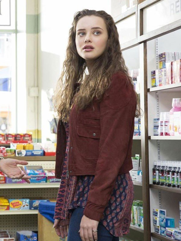 Katherine Langford 13 Reasons Why Jacket