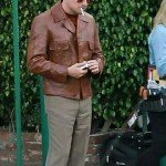 Leonardo DiCaprio Brown Jacket