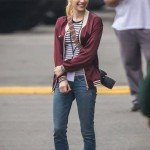 Nerve Emma Roberts Red Jacket