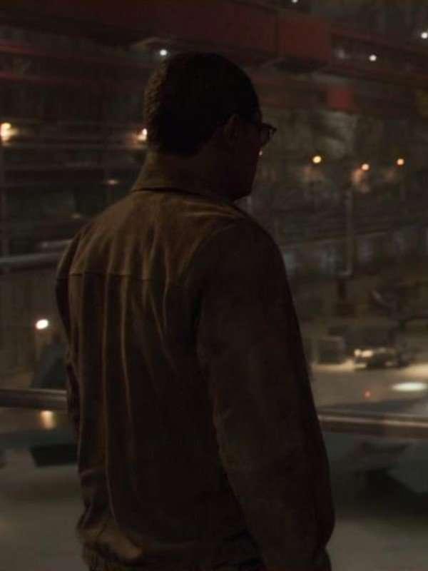 Nick Fury Captain Marvel Samuel L. Jackson Jacket