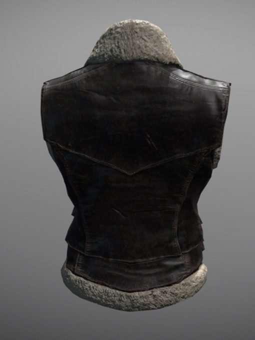 PUBG Brown Leather Vest