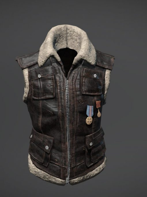 PUBG Shearling Vest